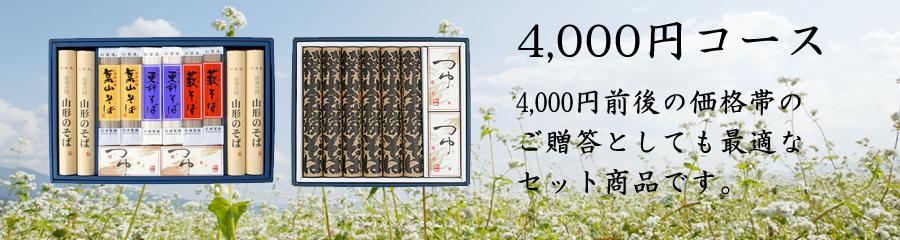 ギフト4000円コース